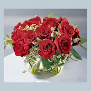Red Rose Wedding Centerpiece